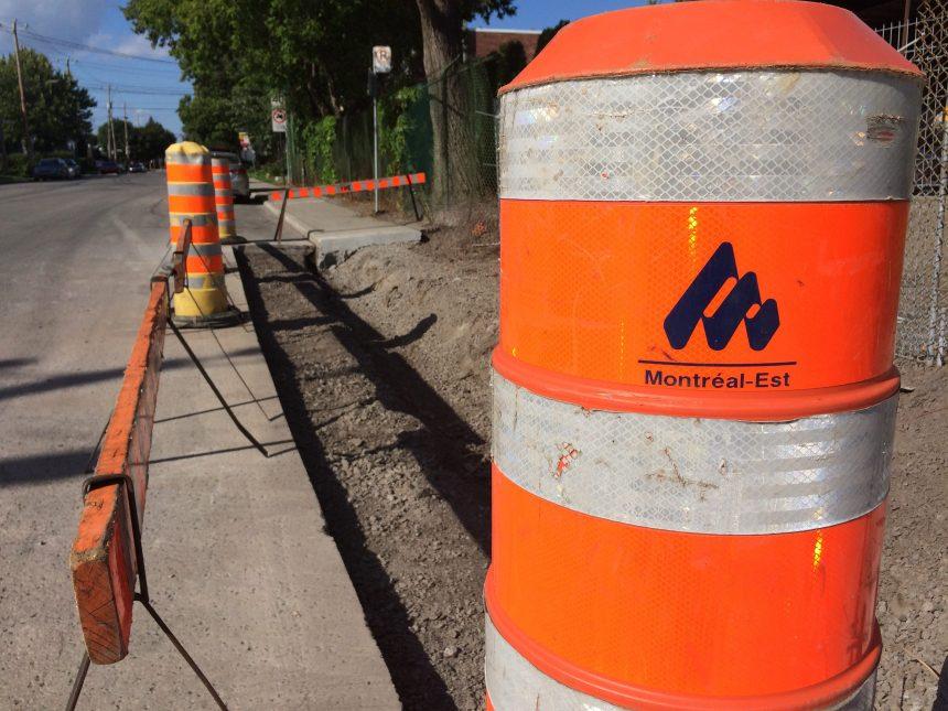 Travaux: le maire de Montréal-Est lance un appel à la clémence