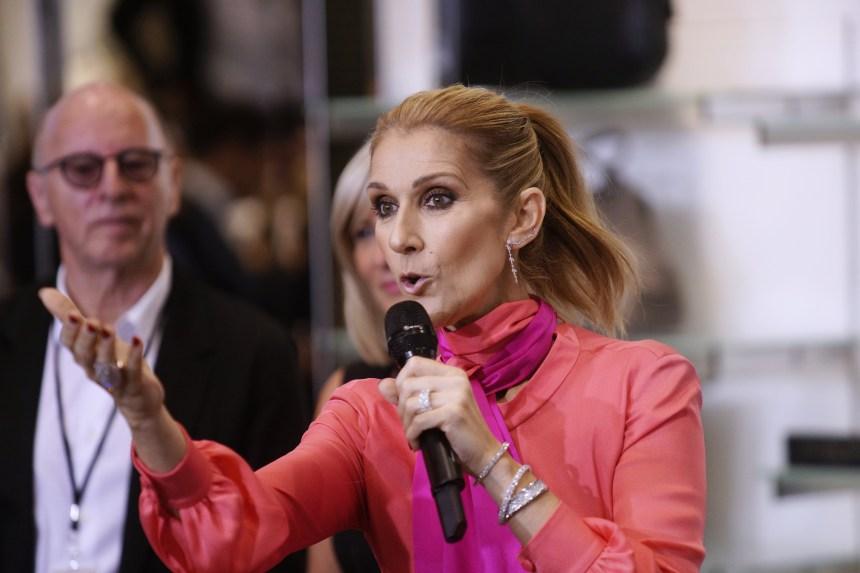 [Photos] Céline Dion de passage à Montréal pour présenter sa collection de sacs