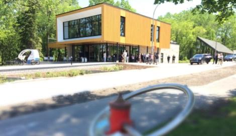 pavillon d'accueil du Parcours Gouin