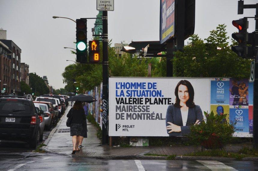 Projet Montréal dévoile ses premières affiches électorales