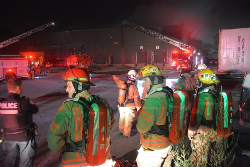 Une entreprise du Sud-Ouest ravagée par un incendie