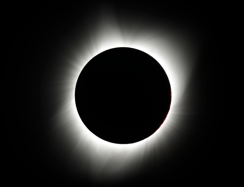 L'éclipse solaire en photos