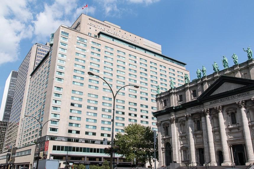 [PHOTOS] L'hôtel Le Reine Elizabeth s'ouvre vers la ville