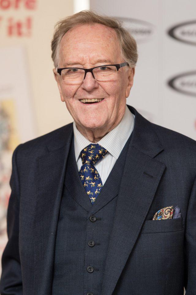 Un acteur d'Harry Potter, Robert Hardy, est décédé