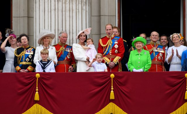 Les membres de la famille royale britannique qui ont le plus travaillé en 2017