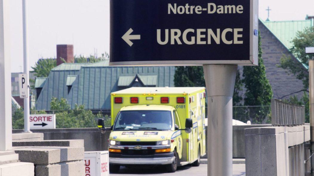 Les urgences de l'hôpital Notre-Dame, à Montréal