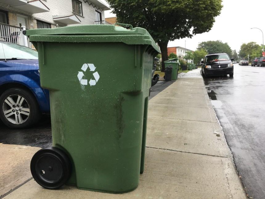 Hausse du recyclage à Saint-Léonard