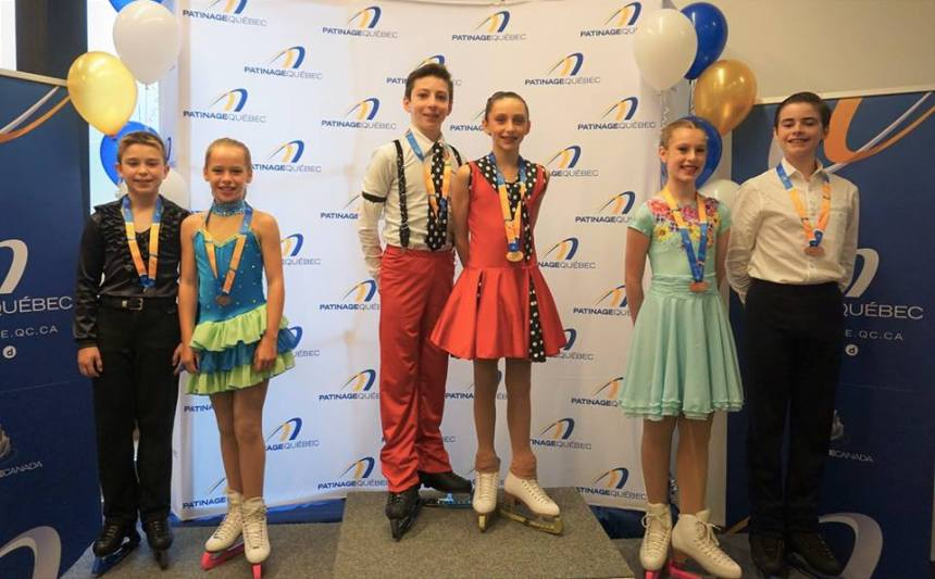 Trois médailles pour les athlètes du Club Anjou-Kinsmen