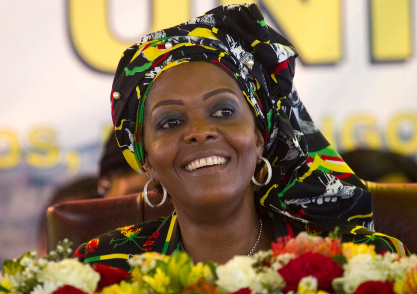 L'immunitée accordée à Grace Mugabe