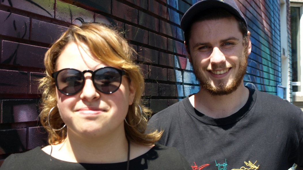 Thomas Bourdon et Catherine Bilodeau sont les créateurs du festival SOIR, un événement d'arts multidisciplinaires, qui est de retour pour une deuxième année sur la rue Beaubien.