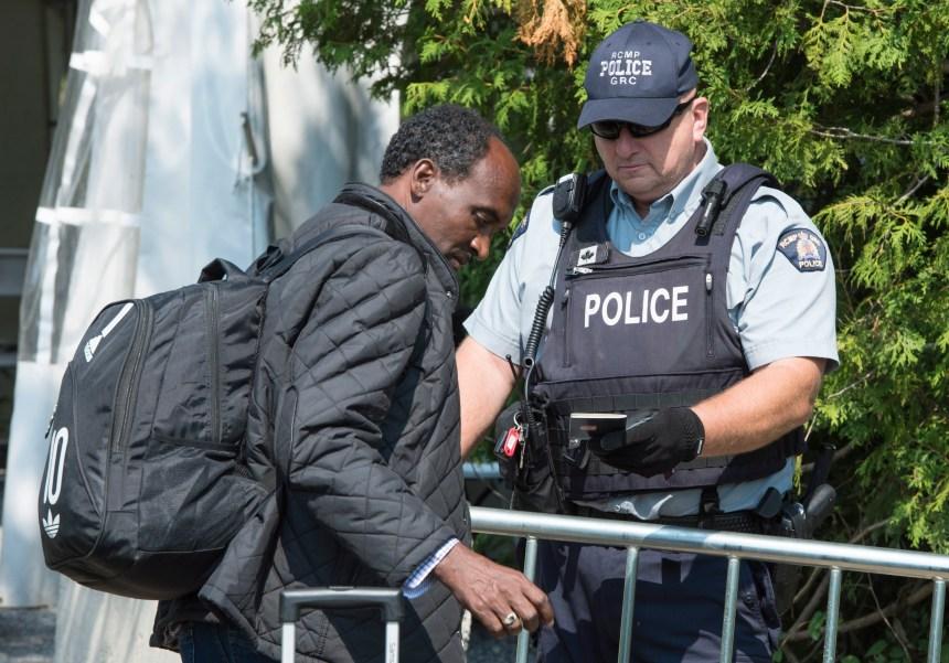 Demandeurs d'asile: un sommet depuis 2009