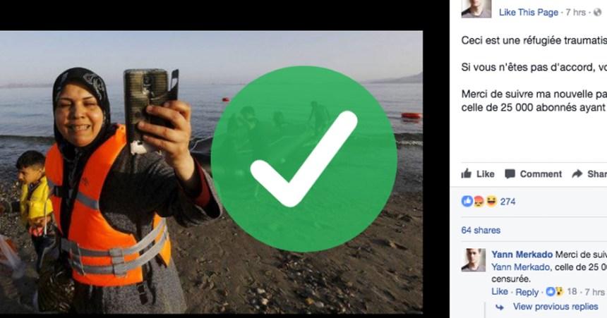 Oui, plusieurs migrants prennent des selfies en arrivant (et voici pourquoi)
