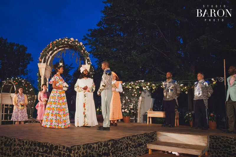 Much ado about theatre in the Park
