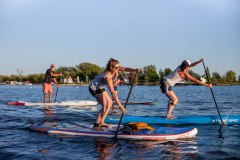 Le Stand Up Paddle s'installe à Lachine