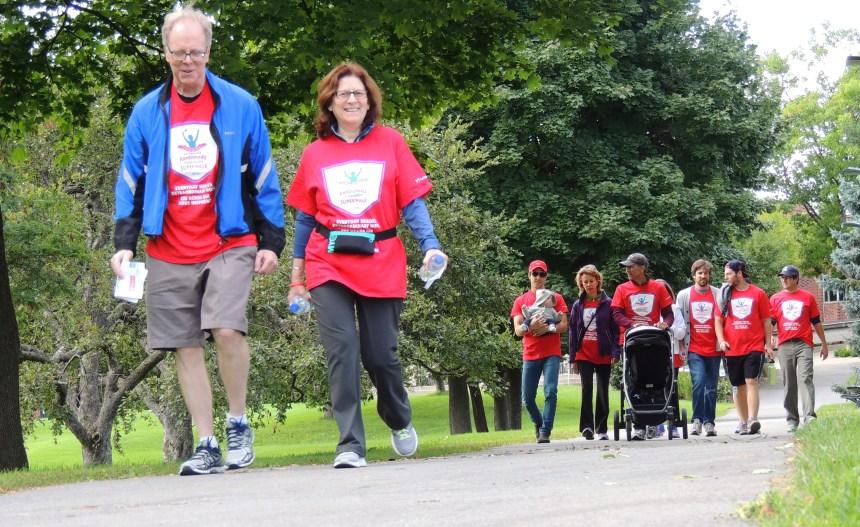 Randonnée Parkinson à Sainte-Anne-de-Bellevue: donner, éduquer, soutenir