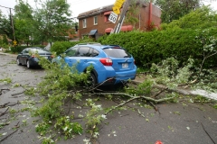 L'orage cause d'importants dégâts à Montréal