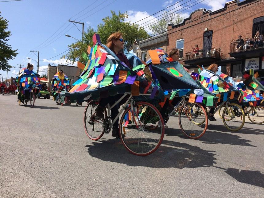 [PHOTOS] Un défilé de 375 vélos raconte Montréal-Nord