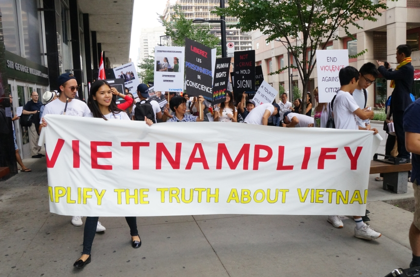 Un mouvement «pour amplifier la vérité» sur le Vietnam