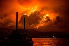 [PHOTOS] D'immenses brasiers couvrent de cendres la région de Portland