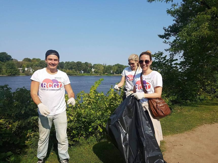 Plus de 100 bénévoles pour nettoyer les berges