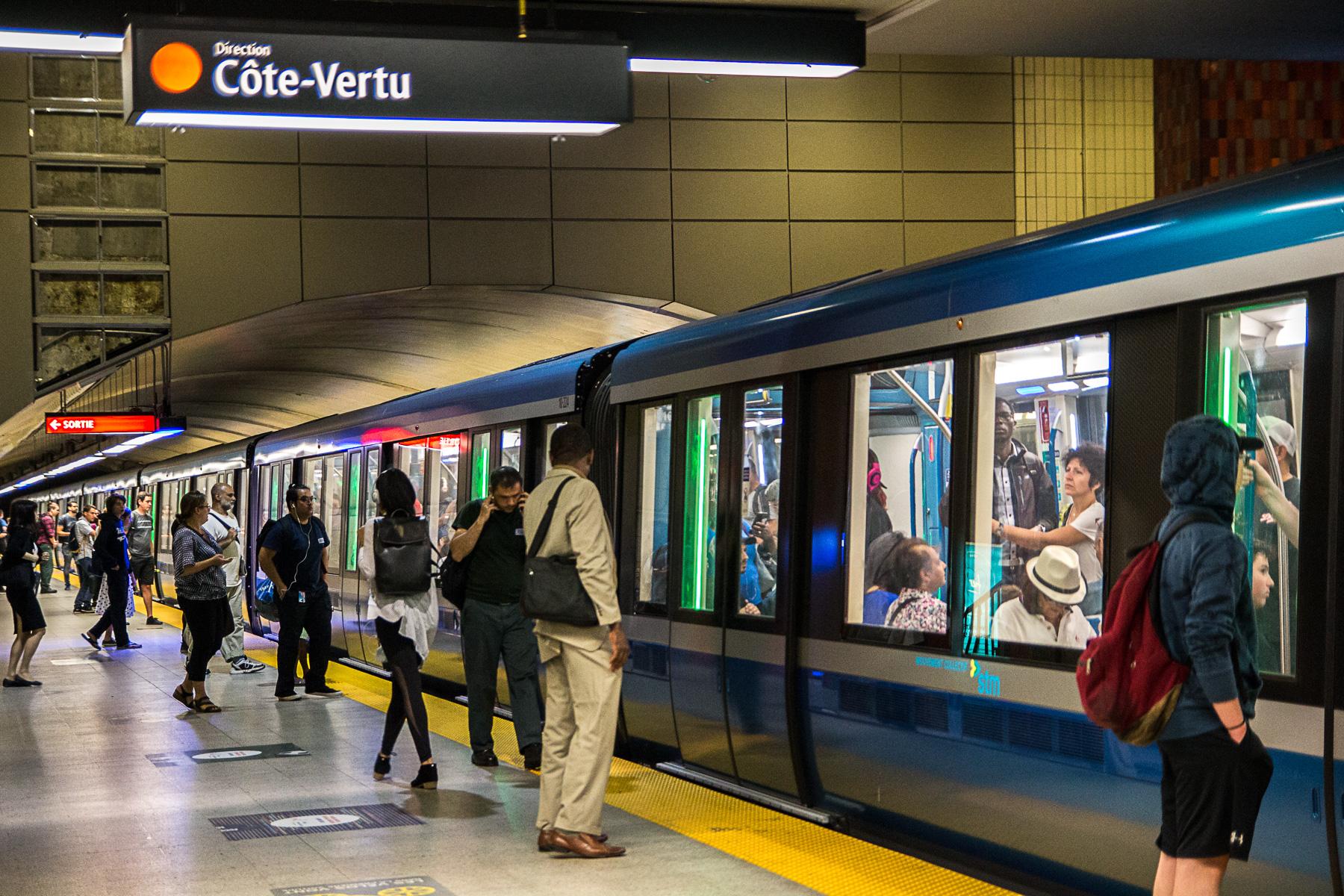 La rénovation du métro Vendôme va bon train, assure la STM
