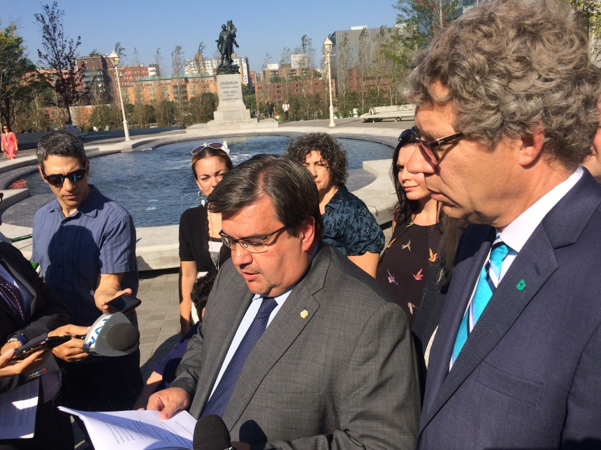 Denis Coderre propose d'améliorer le programme d'accès à la propriété