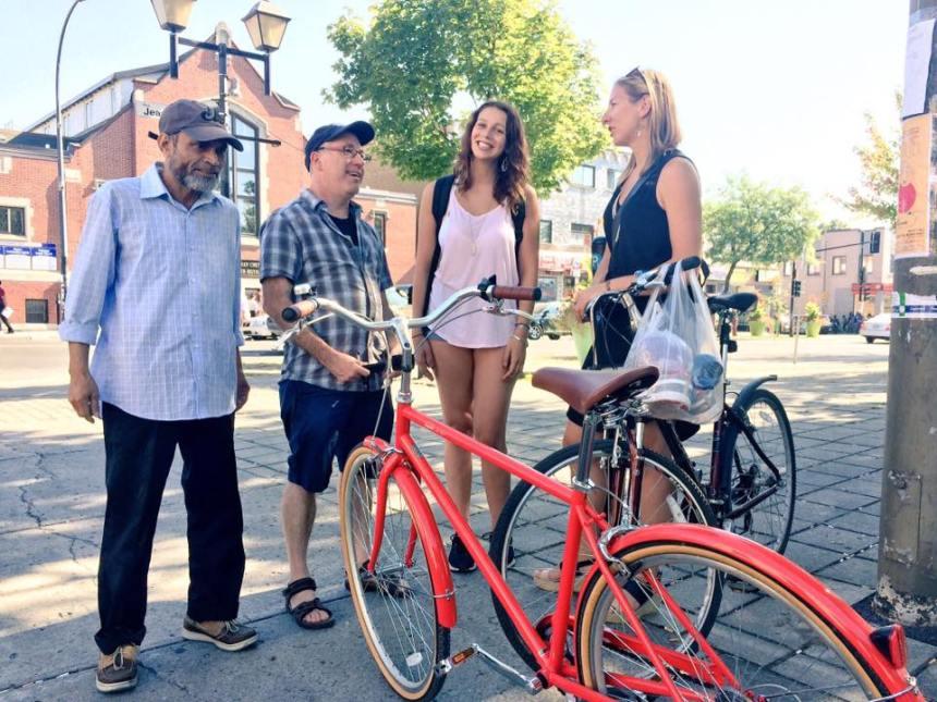 Des citoyens de Parc-Ex réclament un plan pour le transport actif
