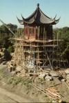 Mme Cadieux à encadré les travaux de restauration du Jardin de Chine.