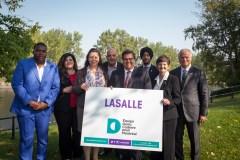 Les candidats d'Équipe Coderre à LaSalle