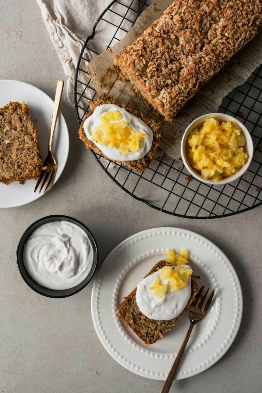 Du pain aux bananes, c'est toujours bon!