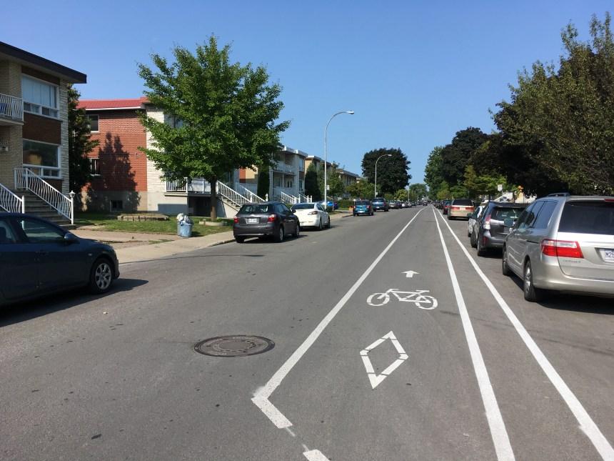 Deux nouvelles voies cyclables pour Saint-Léonard