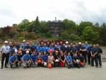 L'équipe qui a travaillé à la rénovation du Jardin de Chine pour sa rouverture en 2017.