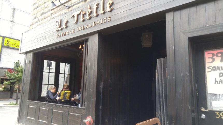 Une taverne irlandaise à Verdun