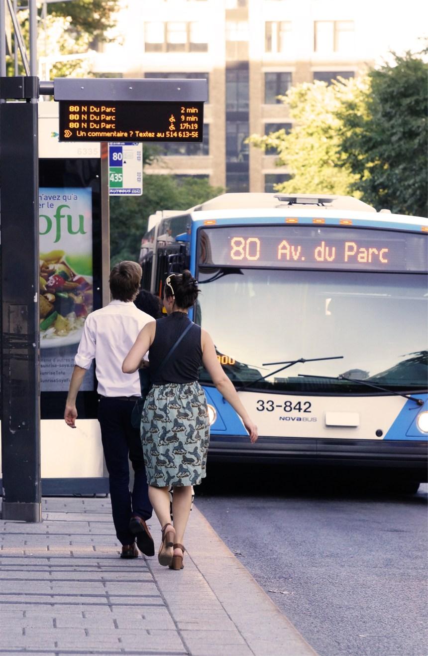 La fiabilité des bornes d'information en temps réel des autobus mise à l'épreuve