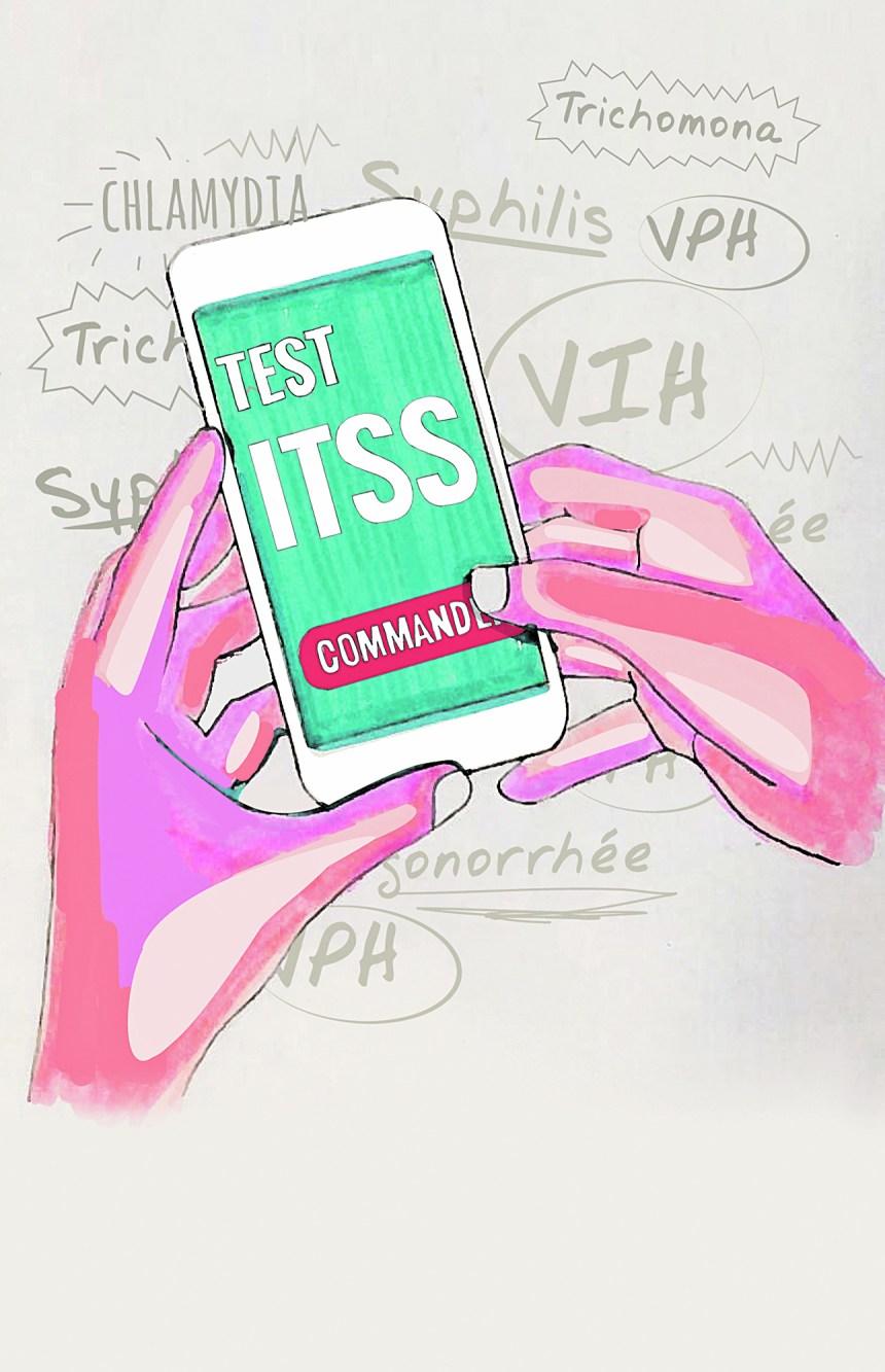 Acheter un test de dépistage des ITSS sur l'internet