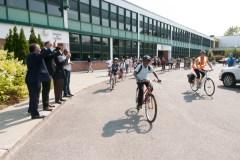 Deuxième année pour le Vélobus à l'école Laurentide