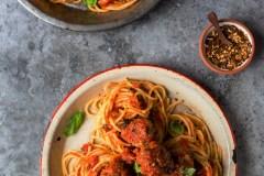 Un spaghetti boulettes tellement bon!
