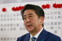Ottawa: rencontre du premier ministre du Japon Shinzo Abe avec Justin Trudeau