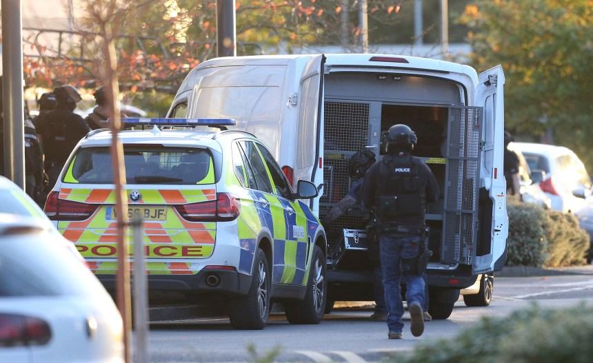 Prise d'otages dans une salle de quilles en Angleterre