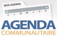 Agenda communautaire du 13 mai 2019