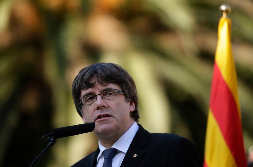 Manifestation test pour les indépendantistes catalans