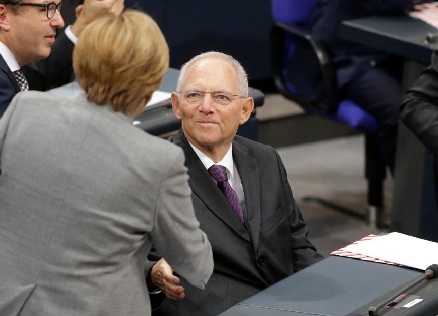 Le nouveau Parlement allemand élit son président