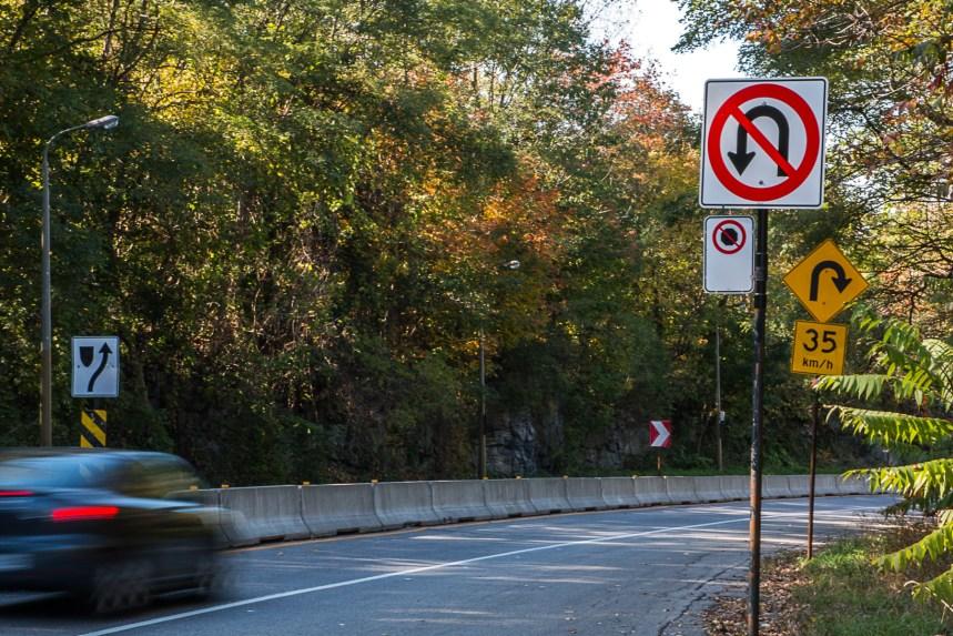 Chemin du mont Royal: des aménagements pour empêcher les demi-tours et réduire le transit automobile