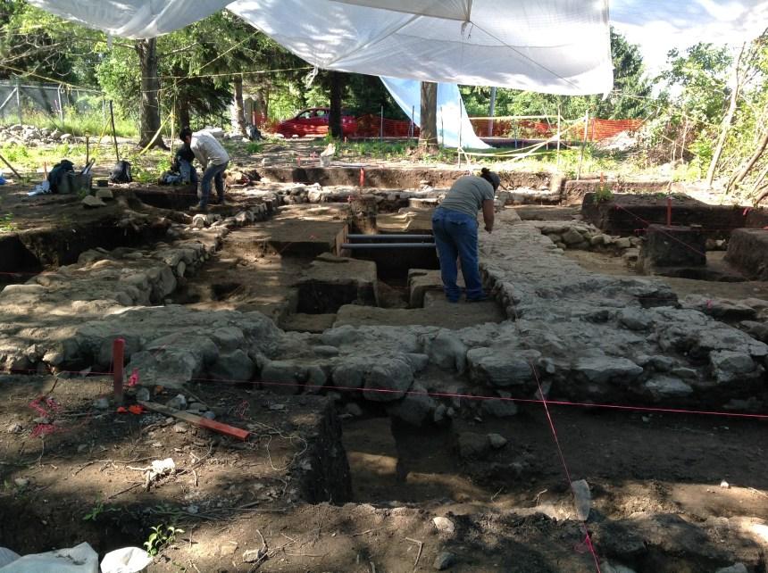 Découvertes archéologiques dans le secteur du parc de la Pointe-aux-Prairies