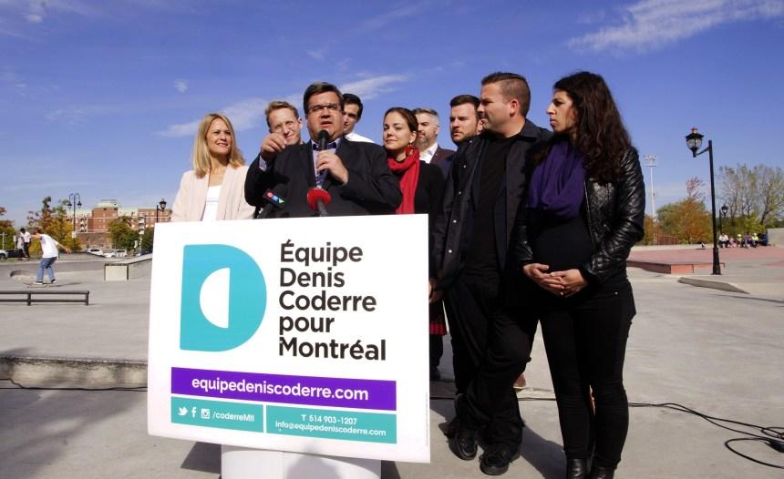 Denis Coderre veut étendre les conseils jeunesse à tous les arrondissements