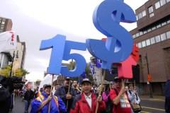 Peu d'employés sous le 15$ l'heure à la Ville de Montréal