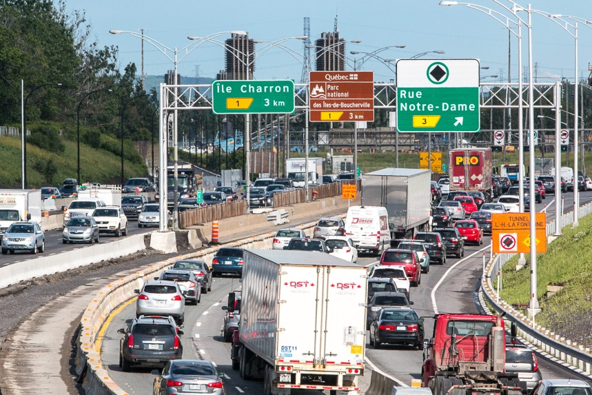 Réfection du pont Louis-Hippolyte-La Fontaine : deux ans de congestion en vue