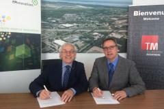 Premier investissement dans l'éco-campus Hubert Reeves