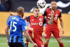 Toronto FC 1 – Impact 0 (pointage final)