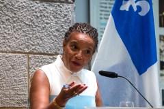 Démission de la présidente de la Commission des droits de la personne